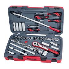 "Teng Tools T1244 1/2"" Drive 44 Piece Metric & AF Socket Tool Set"