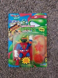 Vintage 1993 Playmates Teenage Mutant Ninja Turtles Sewer Heroes Super Mike