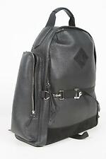 $3290 Tom Ford Buckley Black All-Around Zip Grained Leather Suede Backpack Bag