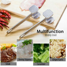 Aluminium Alloy Metal Meat Mallet Tenderizer Steak Beef Chicken Hammer Tool New
