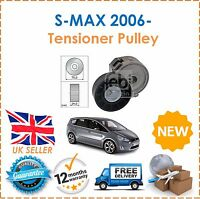 For Ford S-MAX 2.0TDCi 2006- Alternator Drive Fan Belt Tensioner Pulley New