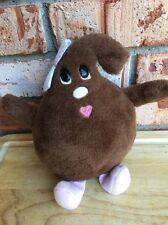 "Vintage 1984 Nestle Li'l Bits Plush Stuffed Lovey Doll 6 1/2"" Chocolate Kiss"