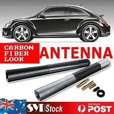 "Black 12CM 4.7"" Carbon Fiber Car Radio AM/FM Aerial Antenna Mast For Universal"