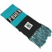 Port Adelaide Power Official AFL Supporter Traditional Knitted Bar Scarf