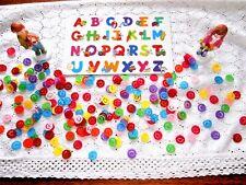 100 x Streudeko Teile SMILEYS Tisch bunt Einschulung Dekoration Schulanfang ABC