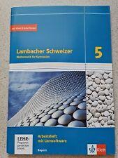 ^ Lambacher Schweizer Mathematik 5.^ Bayern ^ Arbeitsheft plus Lernsoftware ^