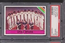 1975 Topps #329 Utah Stars Team Card Moses Malone Rookie PSA 10  *