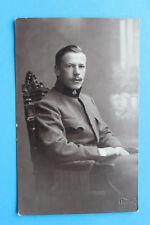 AK Österreich KuK Soldat Kragenabzeichen wohl Scheinwerfer Abteilung 1914-18 1WK