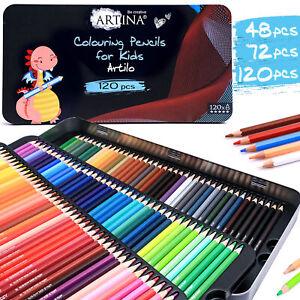 Buntstifte Set Malstifte Farbstifte Zeichnen Skizzierstifte Kinder Zeichenstifte