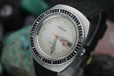 Vintage WITTNAUER Automatic Stainless Steel Diver Men's Sport Watch