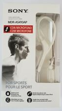 Sony MDR AS410AP - WHITE - NEW & SEALED - SPORTS HEADPHONES