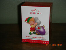 2015 Hallmark Ornament ~NORTH POLE TREE TRIMMERS ~ 3RD IN THE SERIES.    . (2016