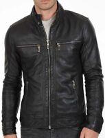 Teddy Sears Hunter Zolomon Flash Zoom Leather Jacket BNWT