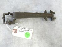 Vintage Wrench Miller Vehicle Wrench Co St. Louis, MI Pat 1891 Automobile Wrench