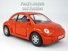 Volkswagen - VW - New Beetle 1/32 Scale Diecast Metal Model - RED
