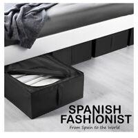 IKEA SKUBB Box storage, black, 44x55x19 cm