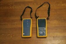 Fluke Networks Dtx 1800 Cable Analyzer Amp Smart Remote With Working Batteries Vg Fs