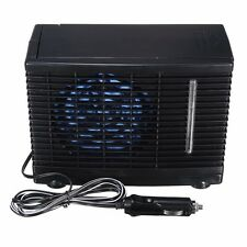 12V Portable Black ABS Evaporative Air Conditioner Air Cooler Fans for Home Car