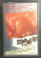 GRANDMASTER MELLE MEL & FURIOUS FIVE Stepping Off -Tape Cassette Album 1985 Rare