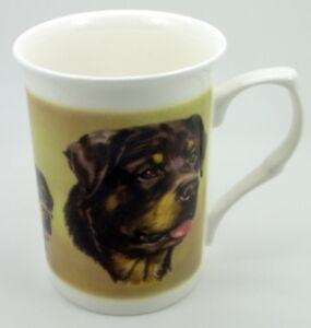 Dog Fine Bone China10 fl oz(1/2 pint) Mugs P - Y ~ choose your breed