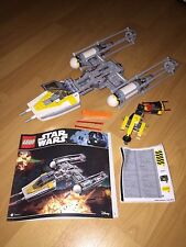 LEGO Star Wars 75172 - Y-Wing Star Fighter w/ Stickers & Instructions No Figures