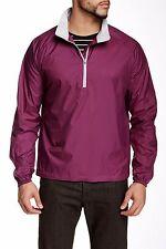 Peter Millar Mens Geneva Shirt Sz L Lightweight Packable Windbreaker Shirt NWT