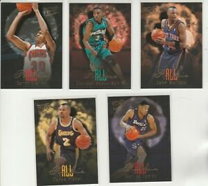 90's INSERTS LOT (5/15) 1996-97 FLEER ULTRA ALL-ROOKIE RC CAMBY FISHER SHAREEF