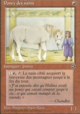 MTG Magic - Terres Natales - Poney des nains  -  Rare VF