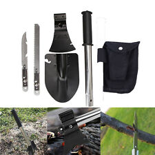 4 In 1 Survival Emergency Camping Hiking Knife Shovel Axe Saw Gear Kit Tools