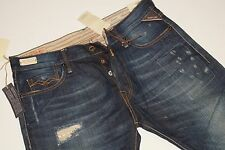 Neu - Replay - W31 L34 - Jennon - Special Denim - Patch Optik Jeans M909 K 31/34