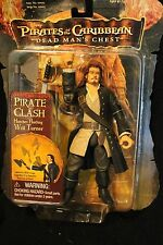 """Pirates of the Caribbean - Dead Man's Chest - Will Turner - 2006 - 7"""" tall"""