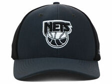 BROOKLYN NETS 47 Brand Black and Graphite NBA HWC Flex Fit Hat Cap size S  5c0560df6ec6