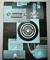 ORIGINAL 1964 PONTIAC WIDE TRACK ACCESSORIES CATALOG ~ 24 PAGES ~ 64PONACC