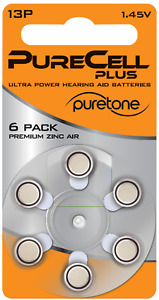 Purecell Hearing Aid Batteries (Size 13)