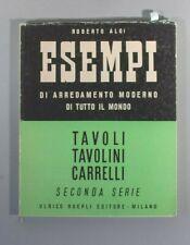 Aloi, Tavoli Tavolini Carrelli tables 1955 Eames Ponti Cherner Prouve
