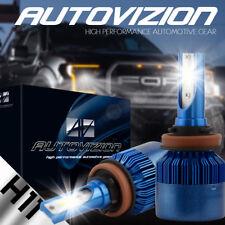388W COB LED H8/H9/H11 Car DRL Fog Headlights Hi Low Beam Bulb 6000K Super Power