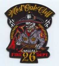Dallas Fire Department Station 26 Patch Texas TX