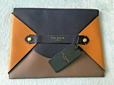 TED BAKER BNWT STYLISH COLOUR ENVELOPE TABLET CASE LEATHER RRP £79
