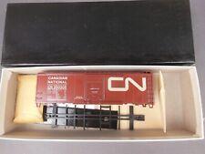 HO SCALE KAR-LINE CN CANADIAN NATIONAL 40' BOX CAR KIT