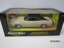 Ertl American Muscle 1:18 Scale 1969 DODGE CHARGER R/T  New in box