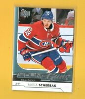 D18335  2017-18 Upper Deck #494 Nikita Scherbak YG YOUNG GUNS ROOKIE