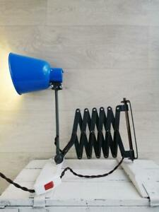 Industrial Scissor Wall Mounting Lamp Accordion Lamp Vintage USSR Made 1970s.1