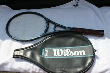 WILSON STING GRAPHITE MIDSIZE TENNIS RACQUET 4 1/2 w/ Cover