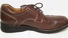 Johnston & Murphy 9.5M BICYCLE OXFORDS Sheepskin Lineoafers Shoes 20-7223 Brazil