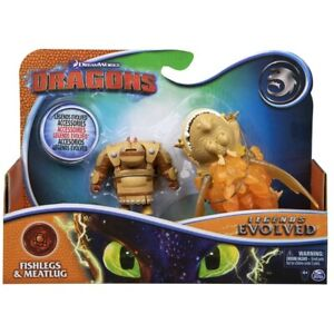 How To Train Your Dragon Legends Evolved Fishlegs Meatlug Action Figure Toy