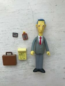 PLAYMATE INTERACTIVE THE SIMPSONS SERIES 11 BLUE HAIRED LAWYER ACTION FIGURE WOS