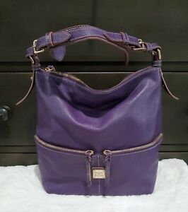 Dooney & Bourke Purple leather Handbags,Shoulder Bag