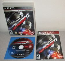 NEED FOR SPEED Hot Pursuit PlayStation 3 w/Manual Criterion Racer Black Label