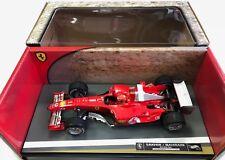 Hot Wheels Racing 1:18 Ferrari Michael Schumacher #1 04.04.2004 Bahrain / Sakhir