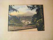 RARE VINTAGE PHOTOGRAPH ENNISKERRY IRELAND SIGNED WILLIAM ALFRED GREEN  c1930